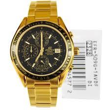 mens gold casio watches best watchess 2017 casio edifice chrono mens gold tone dress watch efr 509g 1av efr509g