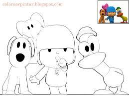 Small Picture Pocoyo Paginas Para Colorear Coloring Page