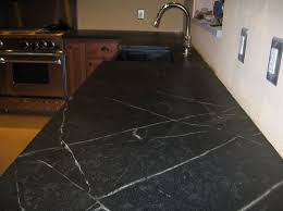 dazzling black soapstone kitchen countertop design