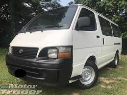2005 TOYOTA HIACE 2.7 MANUAL 12 SEATS ONE OWNER DIESEL ENGINE NEW ...