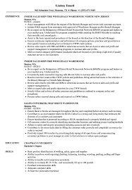 Warehouse Resume Sales Warehouse Resume Samples Velvet Jobs 6