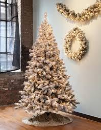 Bethlehem lighting christmas trees Fully Gkibethlehem Lighting Christmas Central 65 Prelit Snowy Pine Flocked Medium Artificial Christmas Tree