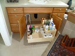 under kitchen sink storage unit large size of bathroom under sink storage bathroom drawer cabinet under