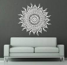 Small Picture Mandala Elephant Wall Decals Hippie Decal Yoga Vinyl Sticker Boho