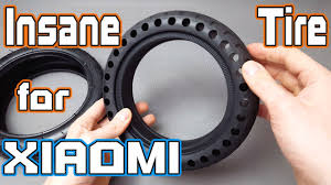 Futuristic Solid tire for Xiaomi M365 Scooter It looks Amazing 4K ...