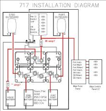 bep marine battery switch wiring diagram wiring diagram and on board battery charging page 2 boat talk chaparral boats battery switch wiring diagram