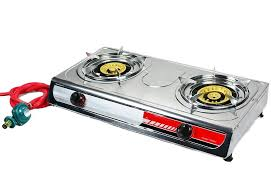 gas stove camping. Simple Stove Portable Propane Gas Stove DOUBLE 2 Burner CAMPING TAIL GATE Tailgating  Stoves In Camping E