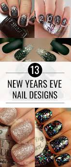 New Year Fingernail Designs New Years Nails Ideas To Beautifully Ring In The New Year