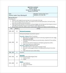 Project Meeting Minutes Template Stunning Free Meeting Minutes Template For Word Board Executive Project