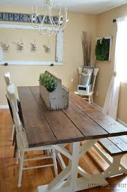 Dining Room Tables Farmhouse Style Gallery Dining Table Ideas
