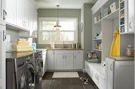 laundry office. Laundry Room And Back Entry Combinations Are Both Popular Practical [Design: Great Kitchens Office