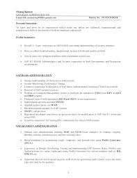 Sap Basis Consultant Resume. Cv Maker Resume Writing Services Sap ...