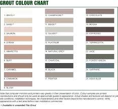 Bostik Diamond Grout Color Chart Bostik Grout Calculator Bostik Grout Colors Tile Grout Color