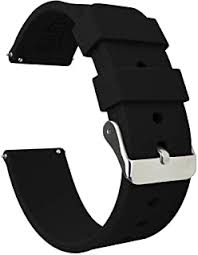 Silicone - Watch Straps / Accessories: Watches - Amazon.co.uk