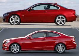 BMW Convertible bmw 350 coupe : Photo Comparison: 2011 BMW 3 Series Coupe vs. 2012 Mercedes-Benz C ...