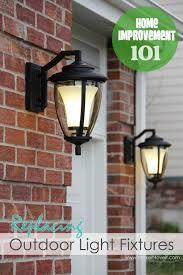 Home Improvement Replacing Outdoor Light Fixtures Dont Be - Exterior light fixtures