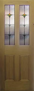 glass panel interior door photo 2