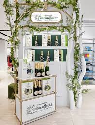 perrier jouët has revealed an installation nothing so mon as a pop up in the marvel room at brown thomas dublin where the chagne house s