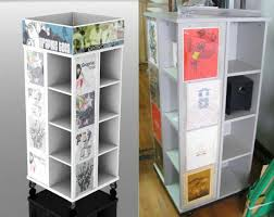 T Shirt Display Stand Delectable White Tshirt Display Rack Wooden Cube Display Stand EcoFriendly