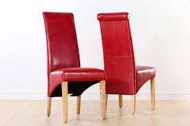 red leather dining chairs furniture choice pertaining to contemporary property red leather dining chairs remodel