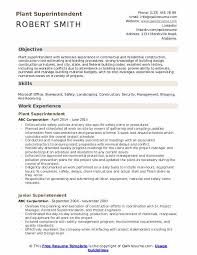 Sample Construction Superintendent Resume Superintendent Resume Samples Qwikresume