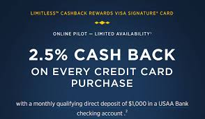 Usaa is not an open credit union and they have strict eligibility requirements. Usaa Limitless 2 5 Cashback Now No Longer Available For New Applications Doctor Of Credit