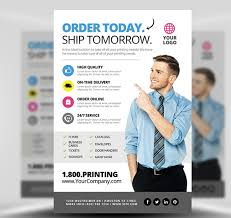 Services Flyer Printing Services Flyer Template 2 Flyerheroes