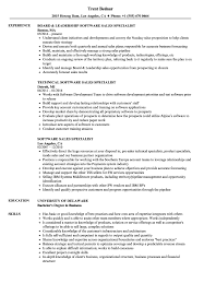 Download Software Sales Specialist Resume Sample as Image file