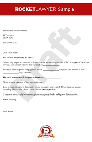 payment request letter to client payment letter debt recovery letter overdue payment letter