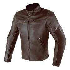 dainese stripes d1 leather jacket 46