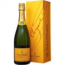 chagne veuve clic yellow label