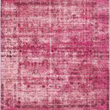9 6 x 11 10 pink turkish overdyed rug