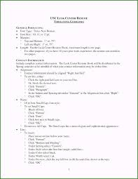 Cv Guidelines Good Resume Templates Magnificent A Good Resume Template
