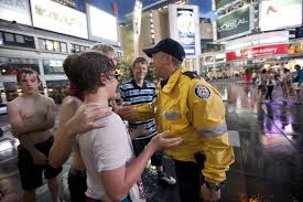 Police patrol Yonge and Dundas in Toronto - The Globe and Mail