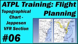 Jeppesen Chart Training Atpl Training Flight Planning 06 Topographical Chart Jeppesen Vfr Section