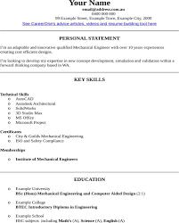 Mechanical Engineering Resume Template Download Mechanical Engineer Cv Template For Free Formtemplate