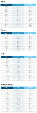 40 Prototypic Skechers Kids Size Chart
