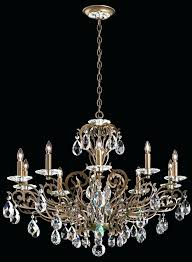 schonbek jasmine chandelier light 1v in gold by optic crystal schonbek jasmine chandelier