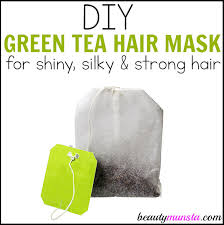 you know green tea is awesome for anti aging but did you know it promotes luscious hair too learn how to make a diy green tea hair mask for shiny and silky