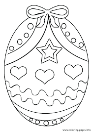 Easter Egg Coloring Page Religious Pages Of Eggs With Colouring
