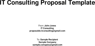 Download Consulting Proposal Template For Free Formtemplate