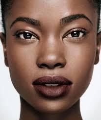 black woman women of colour dark skin makeup natural makeup