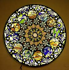 stained glass mosaic light apieceofrainbow 16