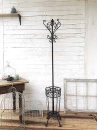 Country Style Coat Rack Coat Rack Iron Coat Stand French Country Decor by CamillaCotton 10