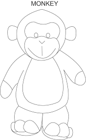 Top 25 Free Printable Monkey Coloring Pages For Kids Coloring