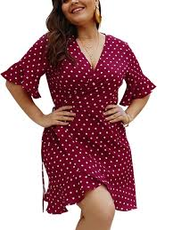 FeelinGirl Womens <b>Plus Size</b> Cute V Neck Floral Printed Jumpsuit ...