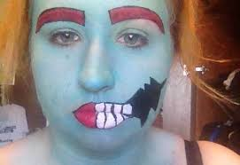 makeup tutorial pop art zombie