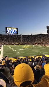 Michigan Stadium Section 37 Home Of Michigan Wolverines