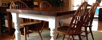 ana white dining room table farmhouse table and bench