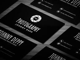 Free Cool Photography Business Card Template